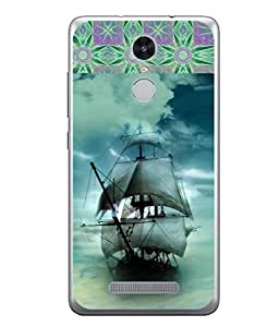 PrintVisa Designer Back Case Cover for Xiaomi Redmi Note 3 :: Xiaomi Redmi Note 3 Pro :: Xiaomi Redmi Note 3 MediaTek (Modern Art Illustration Colorful Decorative Graphic Sea Tides)