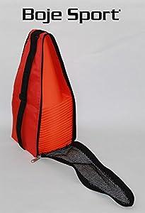 agility sport pour chiens - lot de 20 plots de délimitation 23 cm, couleur: orange, contient également: un sac pratique - 20x MK23o