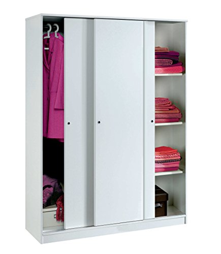 armario-color-blanco-brillo-grande-de-3-puertas-correderas-estantes-regulables-barra-interior-inclui