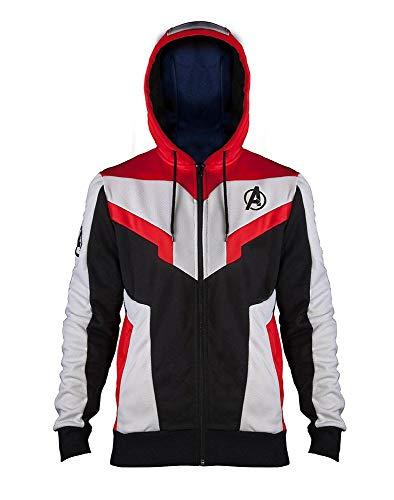 Marvel Avengers - Endgame - Quantum Suit - Zipper | Original Merchandise, Größe:M