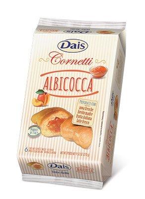 Dais Cornetti Albicocca/Croissant mit Aprikose 270 gr.