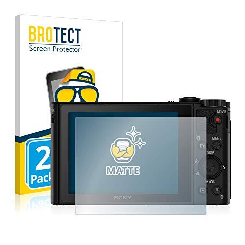 brotect Protection Ecran Anti-Reflet Compatible avec Sony Cyber-Shot DSC-HX90 (2 Pièces) - Film Protection Ecran Mat
