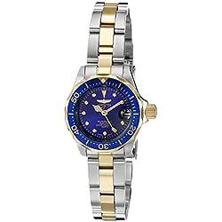 Invicta - Reloj de pulsera mujer, color dorado