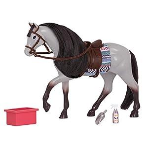 Lori- Caballo Blue Roan Horse, Color Gris, LO38014Z