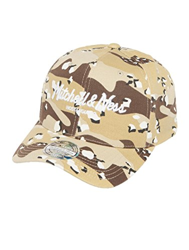 Mitchell & Ness Herren Caps/Snapback Cap Own Brand Pinscript High Crown 110 Camouflage Verstellbar (Camouflage Crown Cap)