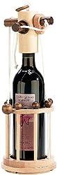 Playtastic Flaschenpuzzle: Flaschen-Puzzle Verona aus stabilem Echtholz (Flaschentresor)