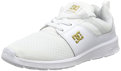 DC Heathrow Se, Baskets Basses Femmes, Blanc (Wg1), 38 EU