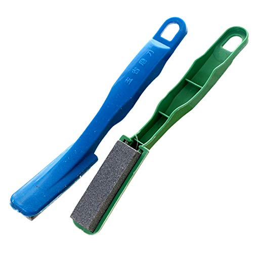WE-WIN Handgestraffer Scharpener Wetzsteine Knife Sharpener, Handheld Sharpener Stages Manual Knife Sharpener Hand Held Knife Sharpener