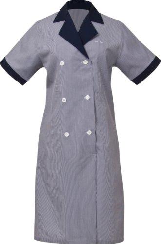 Uniform Works Junior Kordel Damen Housekeeping Kleid, navy, navy, XS (Uniform Navy Kleid)