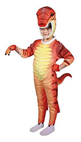 Dinosaurierkostüm für Kinder Gr. M | Karneval | Fasching | Kinderkostüm | Verkleidung | Preis am Stiel®