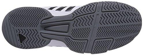 adidas Barracks F10 Herren Sneakers Weiß (Ftwr White/Iron Met./Vista Grey S15)