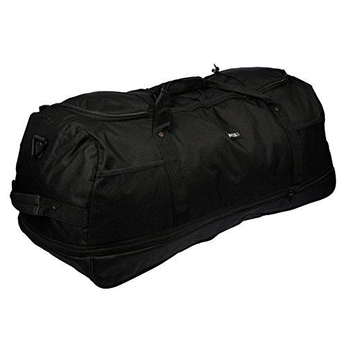 3Ruote, Borsa da viaggio, borsa per sport, tempo libero borsa solo 1,4kg, 80cm, Volume fino a 140litri, 4colori, BLUE (nero) - LL-211011-NR BLUE