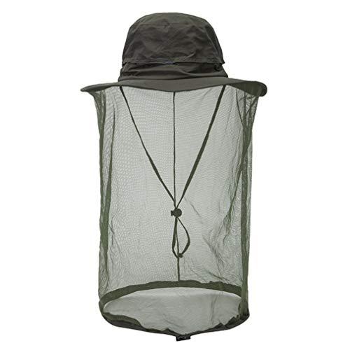 JOYOTER Wandern Angeln Hut Mesh Schutz Bugs Bienen Gesicht Hals Abdeckung Angeln Sonnenschutz Net Cap für Sommer Camping% A