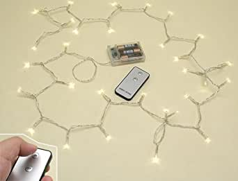 lichterkette led mit fernbedienung x mas weihnachten deko. Black Bedroom Furniture Sets. Home Design Ideas