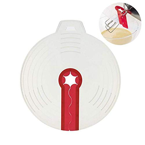 JER Mixer Spritzschutz Eierschale Quirle Schirm Abdeckung Backen Spritzschutz Schüssel Lids Küche die Werkzeug 1Stk Home Zubehör