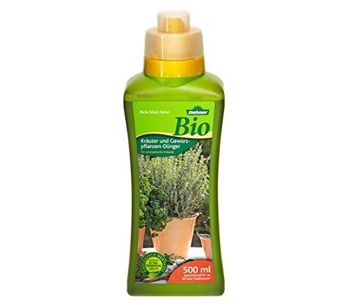 Dehner Bio Kräuter- und Gewürzpflanzendünger, 500 ml, für ca. 50 l