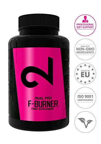 Dual Pro Fat-BurnerBrûleur de Graisses EXTRÊME Végétalien pour Hommes et Femmes100 Gélules...