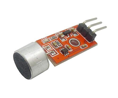 Aihasd MAX9812 3,3V/3,5V Microfono amplificazione del suono MIC Modulo Vocale per Arduino