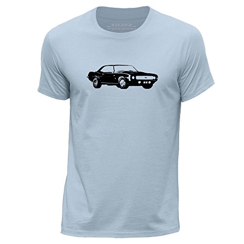 stuff4-mens-medium-m-sky-blue-round-neck-t-shirt-stencil-car-art-camaro-ss-mk1
