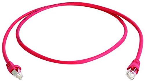 Komsa Kommunikation Sachsen AG classic EDI Telegärtner Patch-Kabel (Cat. 5e, 100 MHz, LSZH 3 m) rot -