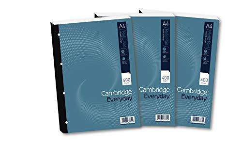 Cambridge A4 Refill Pad, Ruled a...
