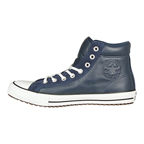 Converse Unisex Ct As Boot Pc Hi In Pelle Nera / Sneaker Scamosciato Blu
