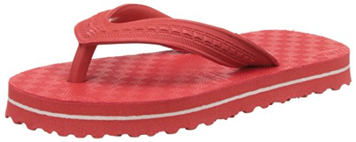 Relaxo Unisex Red Flip-Flops and House Slippers - 7 kids UK/India (24 EU)(RDRD0007)  available at amazon for Rs.61