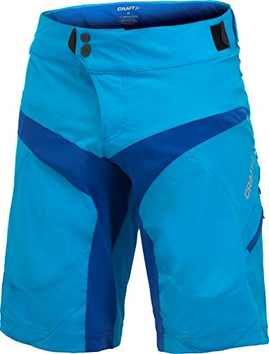 Craft–Maglietta New Performanc Bike Rain giacca blu