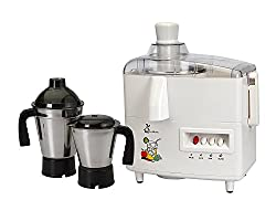 ASC Green Home Juicer Mixer Grinder 550W With 2 Stainless steel Jar (1 Year Seller Warranty)