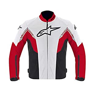 Alpinestars 2013 Viper Air Textile Jacket (White, Red and Black, X-Large)