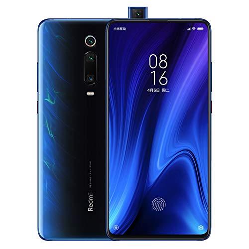 Xiaomi Mi 9T Pro Smartphones 6GB RAM + 128GB ROM, 6.39'' Pantalla Completa, procesador 855, 20MP Frontal y 48MP AI Cámara Triple Trasera Teléfonos móviles Versión Global (Azul)