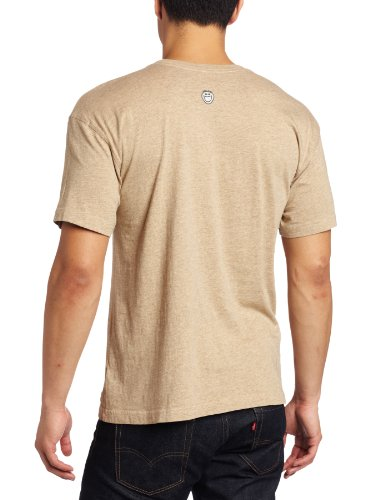 Life is Good Herren Crusher Short Sleeve FREQUENT FLYER Heather Brown