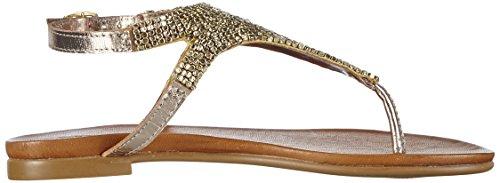 Inuovo Damen 6197 T-Spange Gold (Gold)