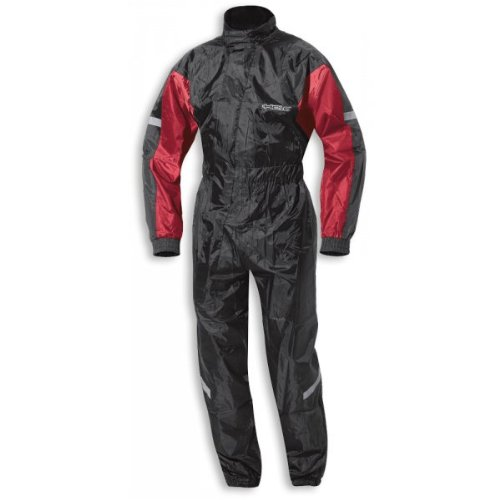 Held SPLASH Regenkombi 1tlg - Farbe: schwarz/rot, Größe: 5 XL