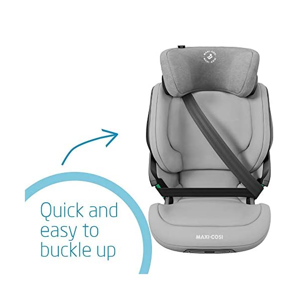 Maxi-Cosi Kore i-Size Child Car Seat, 3.5 - 12 years, 100 - 150 cm, Authentic Grey Maxi-Cosi Child car seat, suitable to use from 3.5 to 12 years (approx from 100 cm to 150 cm) ISOFIX installation is possible with this group 2/3 car seat for optimal stability Quick and easy to buckle up: This ISOFIX car seat is designed to enable children to get in and out and buckle up on their own in a few seconds 4