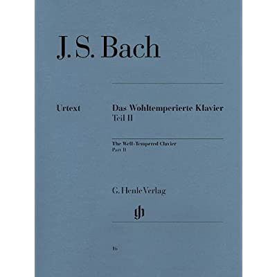 Clavier Bien Tempéré Volume 2 BWV870-893 - Piano