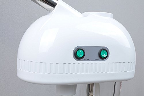 Free Standing Facial Steamer Hug Flight® professional Humidifier Sterilize cleanser device Cleaning Pores clear blackheads Acne Personal Sauna SPA System Skin Care Facial Atomizer Facial Hydration