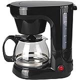 Coffee Maker Black - 6 Cups - 550-650 W