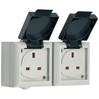 SMJ Electrical EP213B Twin Socket