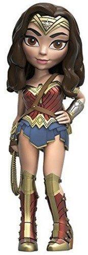 Funko 8051 Sammelfiguren Rock Candy: DC: BvS: Wonder Woman Actionfigur, Mehrfarbig, Einheitsgröße (Rock Woman Wonder)