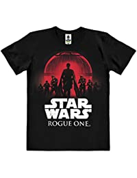 Star Wars - Rogue One T-Shirt 100 % coton organique (agriculture biologique) - noire - design original sous licence - LOGOSHIRT