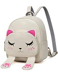0b796febf3 DIOMO Women Kids Backpack for Girls Satchel Cartoon School Bag Cat Travel  Daypack