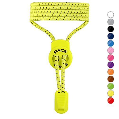 ALPHAPACE PACE Locks Schnürsenkel Gummi Schnellschnürsystem Elastische Schnellverschluss Kinder
