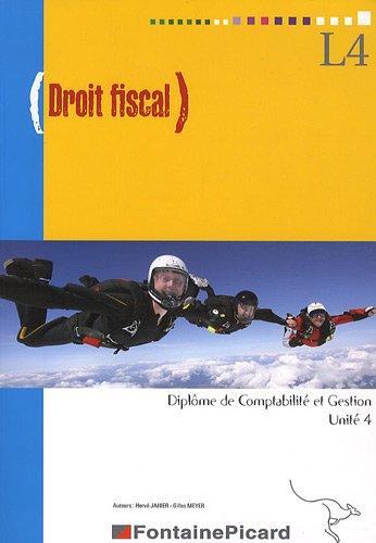 Droit fiscal DCG 4 par Hervé Jahier, Gilles Meyer