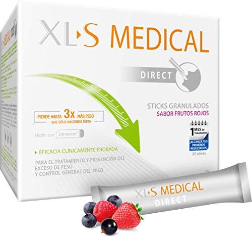 XL-S Medical Captagrasas - Perder Peso 3 veces más que sólo haciendo Dieta, 90 sticks
