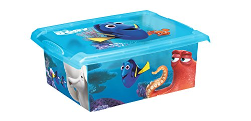 Juego de 2Fashion Box Disney findet Dorie 20L + 10L Caja Caja para juguetes