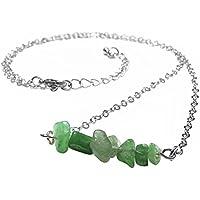 JOVIVI Damen Herren Halskette Formlos Stein Beads Anhänger Reiki Halskette Healing Bar Halskette Therapie Kette preisvergleich bei billige-tabletten.eu