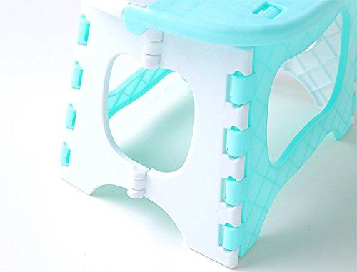 Amasawa sgabello pieghevole in plastica sgabello da bagno sgabello