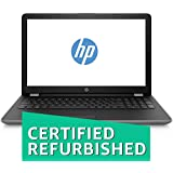 (Renewed) HP 15q-bu024TU 2018 15.6-inch Laptop (7th Gen Intel Core i3-7020U/4GB/1TB/DOS/Integrated Graphics), Smoke Gray