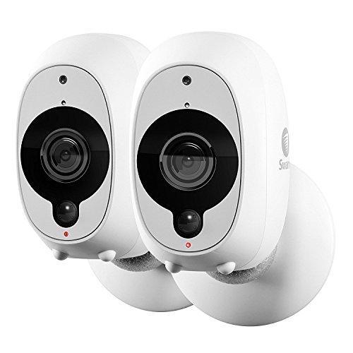 Swann Telecamera di Sorveglianza Smart: Videocamera di Sicurezza Wireless 1080p Full HD con Sensore di Calore/Movimento PIR True Detect, Visione Notte e Audio